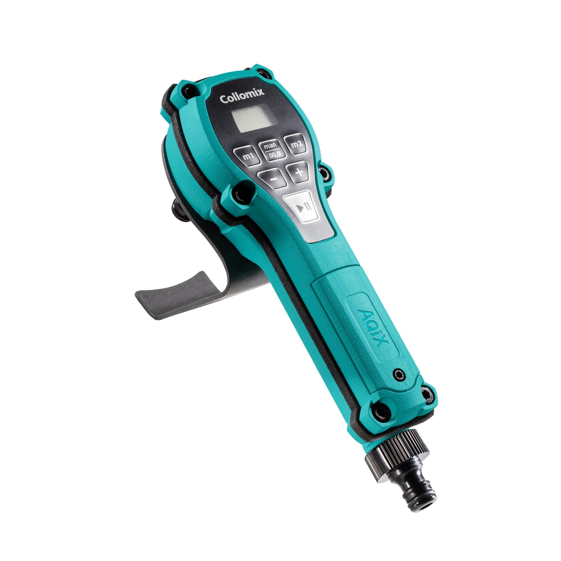 Collomixシリーズの便利な給水測定器、『AQiX』のご紹介。