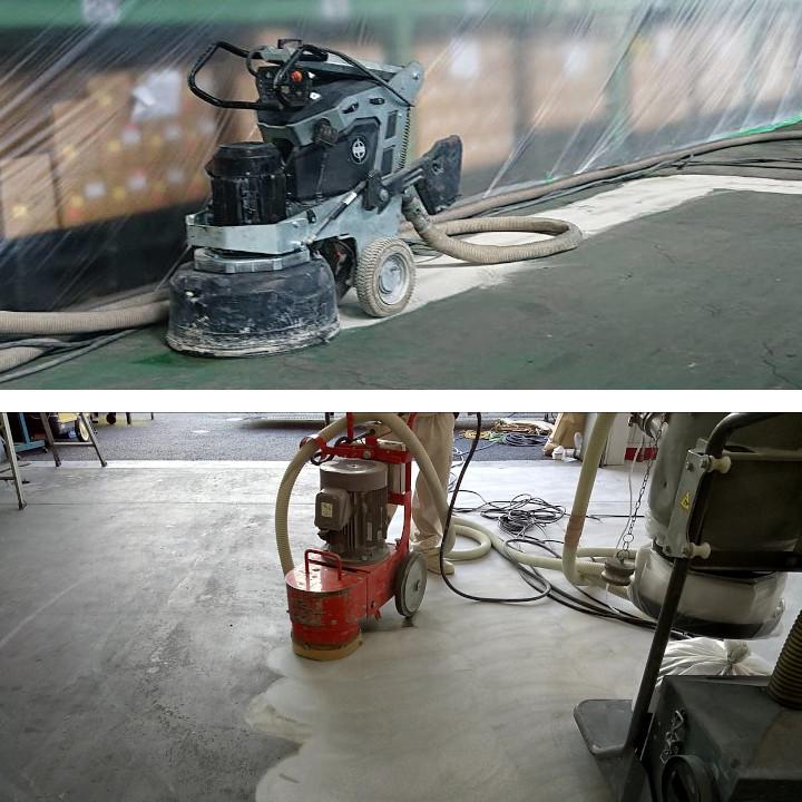 床表面処理研磨工法(床面)